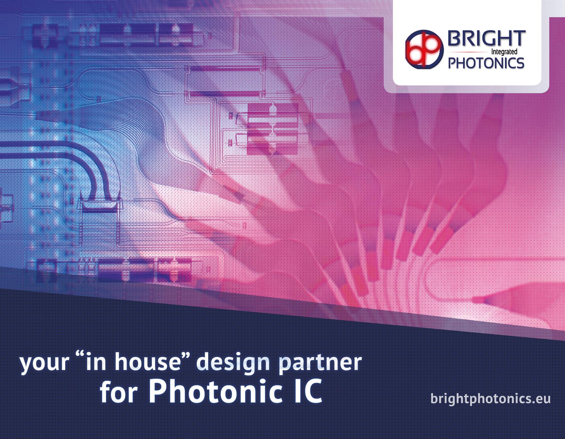 vormgeving voor Bright Photonics