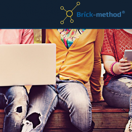 website voor Brick-method